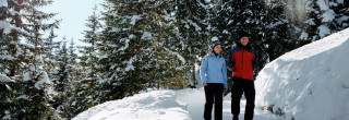 snow hiking switzerland, romantic getaway in switzerland, hotel offer klosters